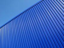 Superfície azul Fotografia de Stock