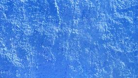 Superfície azul da parede Foto de Stock