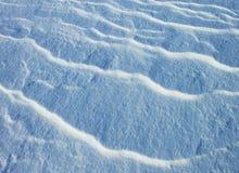Superfície bonita da neve na mola para o fundo fotografia de stock royalty free