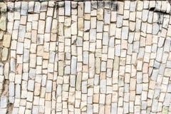 superfície branca do mosaico colorido abstrato do smalt com alta resolução para o fundo fotografia de stock royalty free