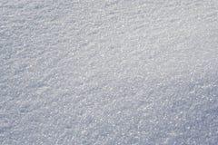 Superfície brilhante da neve fotos de stock