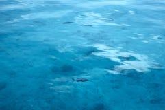 Superfície calma da água Fotografia de Stock Royalty Free
