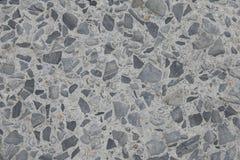 Superfície concreta com pedras encaixadas foto de stock