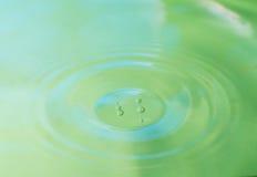 Superfície da água. Fotos de Stock Royalty Free