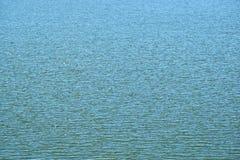 Superfície da água azul Foto de Stock Royalty Free
