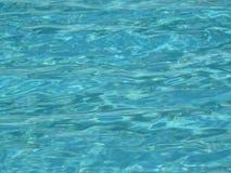 Superfície da água da piscina Fotografia de Stock