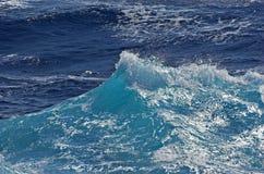 Superfície da água do oceano fotografia de stock royalty free