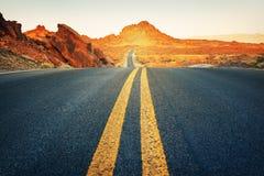 Superfície da entrada de automóveis, Nevada Imagem de Stock