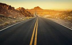 Superfície da entrada de automóveis, Nevada Imagem de Stock Royalty Free