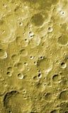 Superfície da lua Imagens de Stock