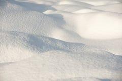Superfície da neve foto de stock royalty free