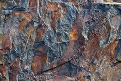 Superfície da pedra. Fotografia de Stock