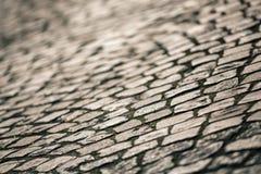 Superfície da pedra de pavimentação Foto de Stock
