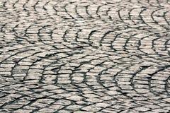 Superfície da pedra de pavimentação Foto de Stock Royalty Free