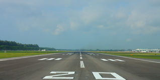 Superfície da pista de decolagem Imagem de Stock Royalty Free