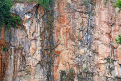 Superfície da rocha Fotos de Stock