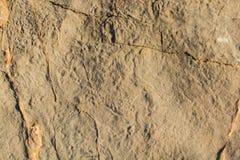 Superfície da rocha ou da pedra como a textura do fundo Imagens de Stock