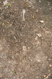 Superfície da sujeira com pedras pequenas imagens de stock