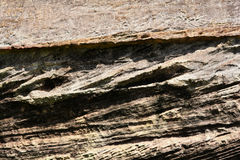 Superfície da textura da rocha Imagens de Stock Royalty Free