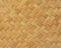 Superfície da textura do weave do artesanato de Brown Fotos de Stock