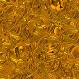 Superfície de brilho do ouro ilustração do vetor