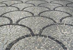 Superfície de estrada decorativa Fotografia de Stock