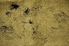 Superfície de linho suja da tela do Grunge para o uso do modelo ou do desenhista, amostra de folha, amostra da capa do livro foto de stock