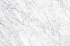 Superfície de mármore branca da luz natural de Carrara para o banheiro ou o kitch fotografia de stock