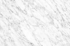 Superfície de mármore branca da luz natural de Carrara para o banheiro ou o kitch foto de stock royalty free