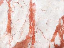 Superfície de mármore do vermelho Fotografia de Stock