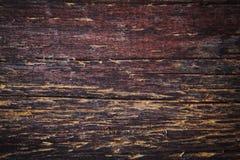 Superfície de madeira colorida suja Imagem de Stock Royalty Free