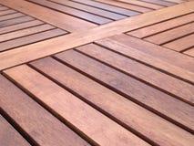 Superfície de madeira da tabela Foto de Stock Royalty Free