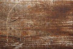 Superfície de madeira velha da cor marrom Foto de Stock Royalty Free