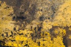 A superfície de metal é sujeita à corrosão e ao tempo Fundo Textura imagem de stock