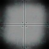 Superfície de metal Fotos de Stock
