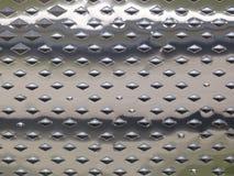 Superfície de metal brilhante Fotografia de Stock Royalty Free