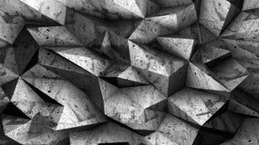 A superfície de metal desigual 3d do grunge velho rende o fundo Imagem de Stock