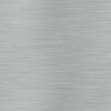 Superfície de metal escovada alinhada horizontal que pode ser Imagens de Stock Royalty Free