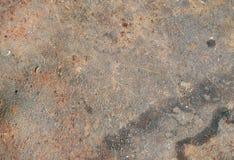 Superfície de metal oxidada Fotos de Stock Royalty Free