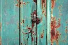 Superfície de metal oxidada Imagem de Stock Royalty Free