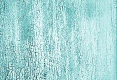Superfície de metal oxidada suja no tom ciano imagem de stock