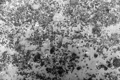 Superfície de metal oxidada tonificada preto e branco Foto de Stock Royalty Free