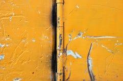 Superfície de metal riscada Fotos de Stock Royalty Free