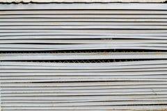 Superfície de metal velha Fotografia de Stock Royalty Free