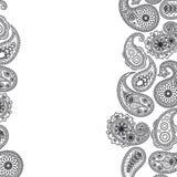 Superfície de Paisley. ilustração royalty free