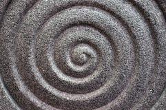 Superfície de pedra como o spirality Foto de Stock