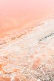 Superfície de Salt Lake Imagem de Stock Royalty Free