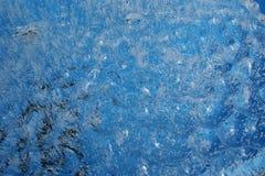 Superfície desigual do gelo fotografia de stock