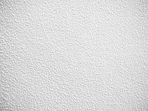 Superfície do concreto branco do grunge velho Fotos de Stock