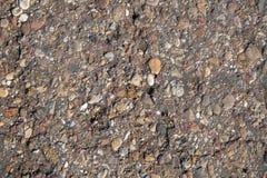 A superfície do fim da estrada acima fotografia de stock royalty free